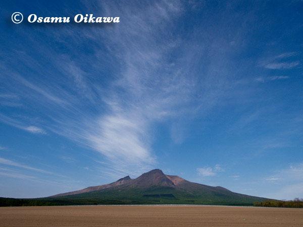 駒ヶ岳と青空