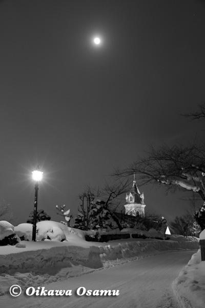 夜の函館元町