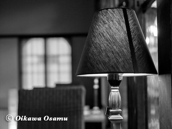 日和坂茶房にて