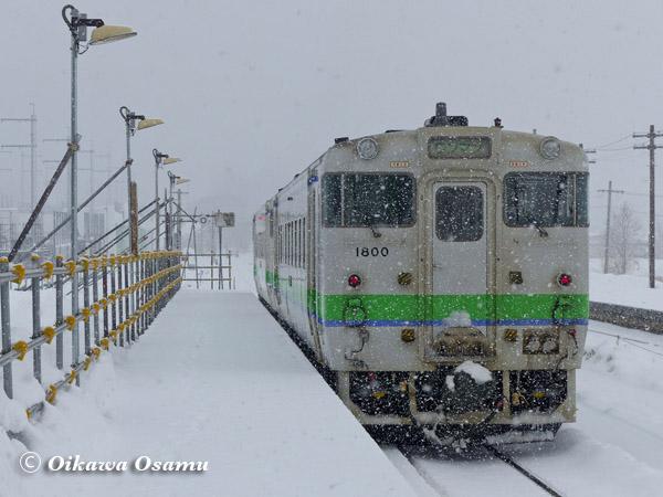 渡島大野駅 ローカル線