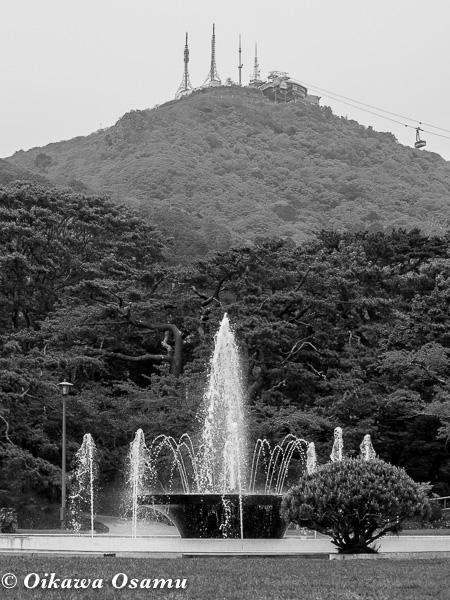 函館公園 噴水