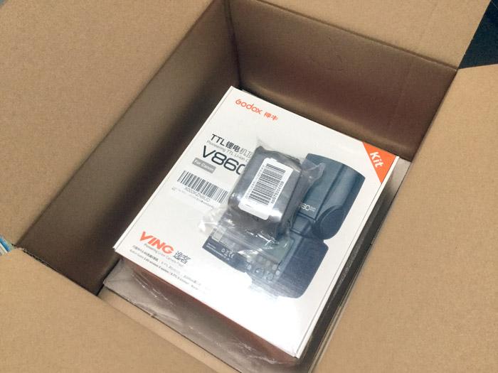 Godox Ving V860IIC 2.4G  購入