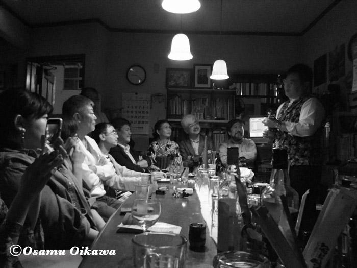 函館 バル街 カフェやまじょう ウクレレライヴ