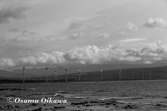 寿都町 風車